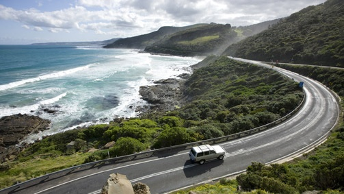 Sydney to Melbourne Coastal Drivehttp://www.visitmelbourne.com/Activities-and-attractions/Touring-routes/Sydney-to-Melbourne-Coastal-Drive/Coastal-route.aspx