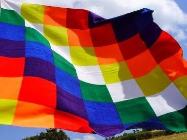 Bandera pueblos originarios