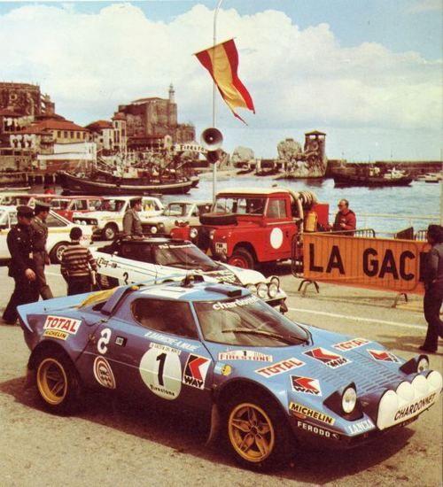 Lancia Stratos rally car. And Bob McGill's favorite PTM.