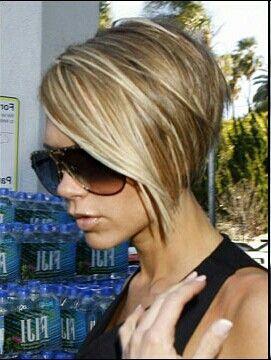 Frizuri stilul Victoria Beckham