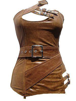 Korsett Korsage Leder Voll-, Unterbrust Corsage Korsettkleid - vor Kauf Ihre Größe - Mieder Dessous | eBay
