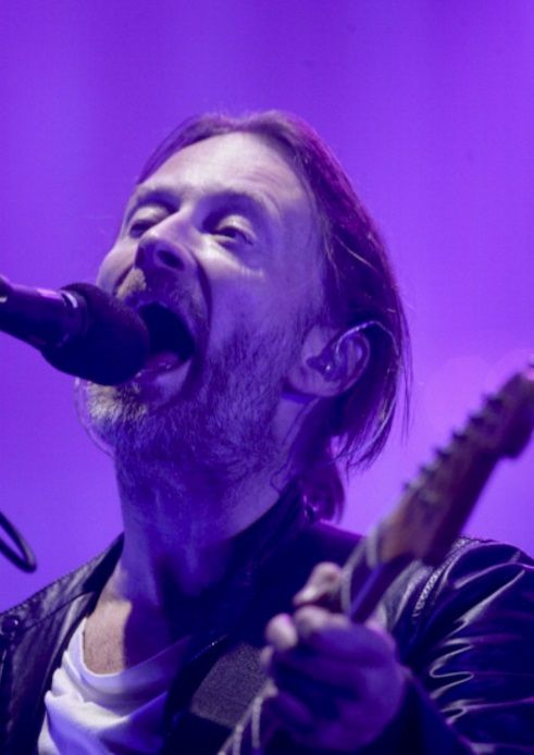Thom Yorke - #Radiohead - Foro Sol on April 17, 2012 in Mexico