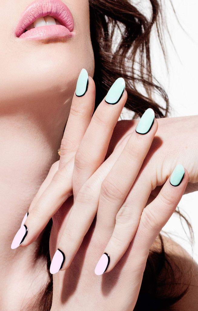 ncLA | Nail Wraps | Orbit Ring