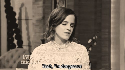 Emma Watson = Hermione Granger - a violent phase + FASHUN. | 17 Actors Who Are Basically Their Characters IRL