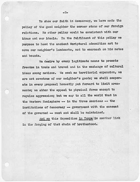 Franklin D. Roosevelt - Foreign policy
