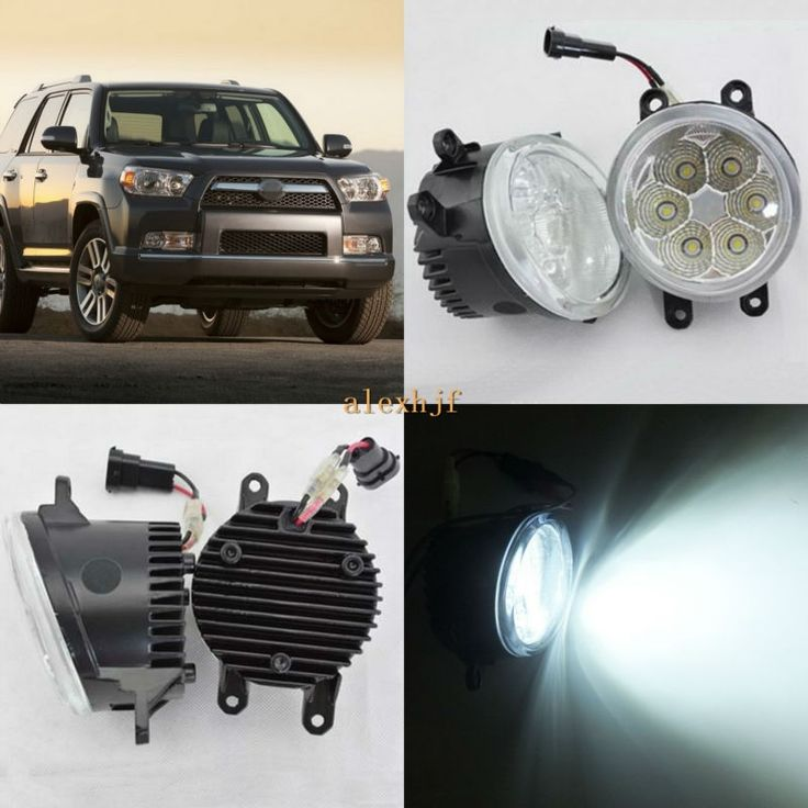69.99$  Watch now - http://ali0z8.worldwells.pw/go.php?t=32764147423 - July King 18W 6500K 6LEDs LED Daytime Running Lights LED Fog Lamp Case for Toyota 4Runner 2010~2014 ,over 1260LM/pc 69.99$