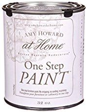 Dreaming about refinishing furniture pieces you own that look kind of drab and old? Here is my tutorial of how I made over a piece with Amy Howard paint.