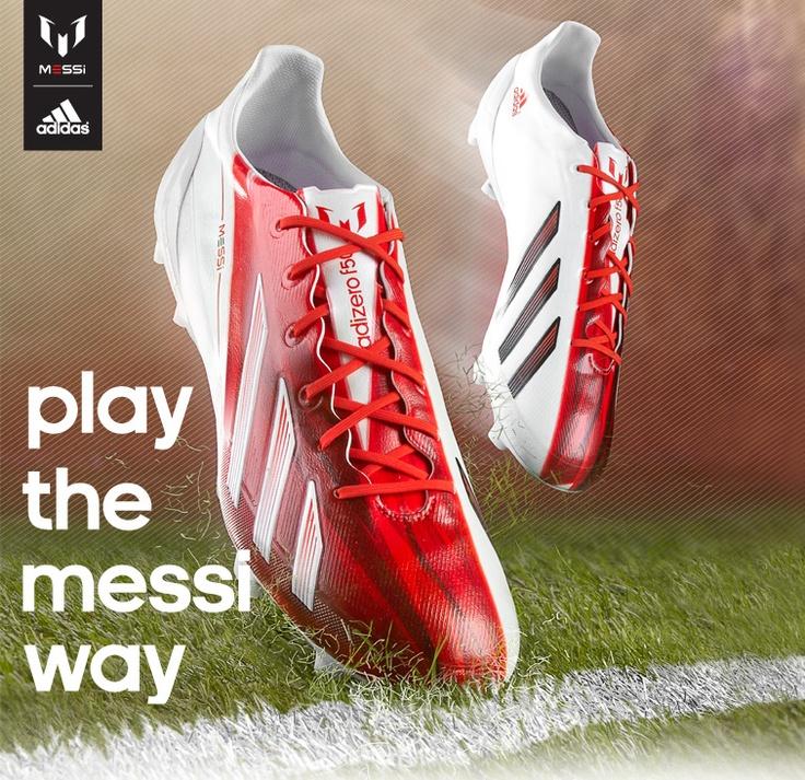 Adidas AdiZero F50 Messi Signature | These are sick... I want them..