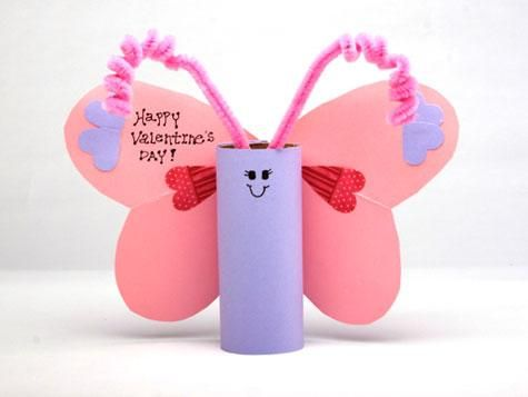 valentine craft: Valentine Crafts, Valentine Day Crafts, Valentines Day, Craft Ideas, Valentine S, Toilet Paper