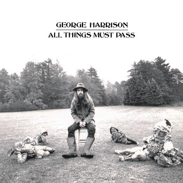 All Things Must Pass by George Harrison (1970) | Community Post: 42 Classic Black And White Album Covers