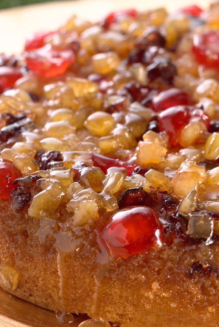 Christmas Upside-Down Cake Recipe