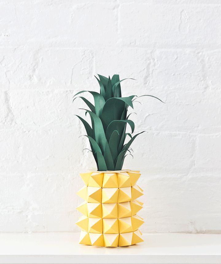 #DIY #Paper #Pineapple