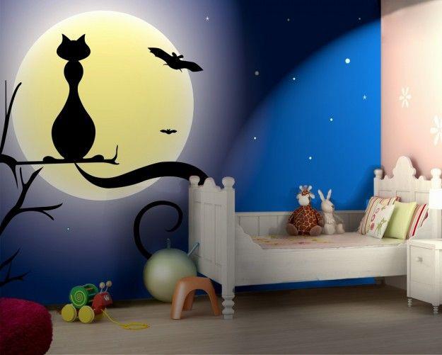 Carta da parati gatto di sera