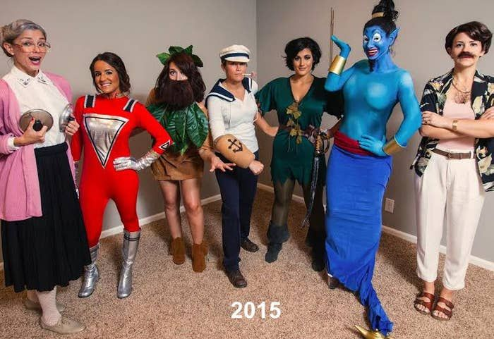 This year, they decided to pay tribute to the late Robin Williams by all dressin…