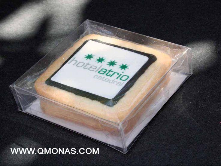 galletas personalizadas hoteles