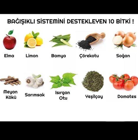 Bağışıklı Sistemini Kuvvetlendirmek için..