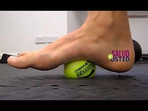 Terapia de la pelota para eliminar el dolor en la ciática - YouTube