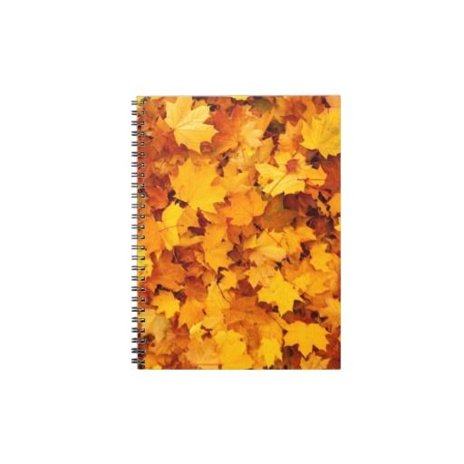 Fall Leaves Note Books