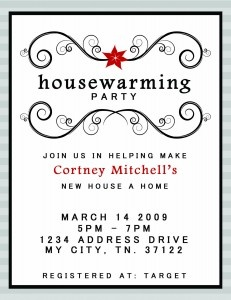 how to make housewarming invitations