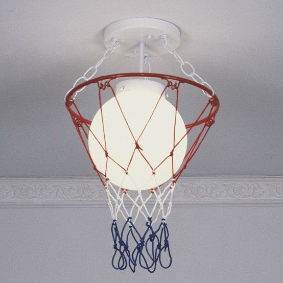 Basketball Click Image To Find More Kids Pinterest Pins Kids Room Lightinglighting Ideasbedroom