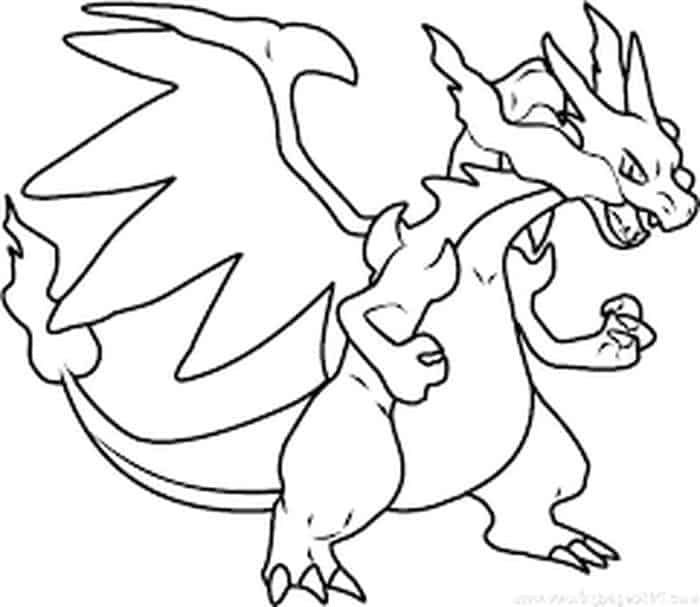 Mega Pikachu Coloring Pages With Images Pikachu Coloring Page