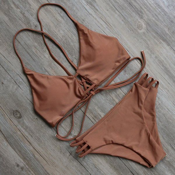 BATHING SUIT BRAZILIAN BIKINI SET