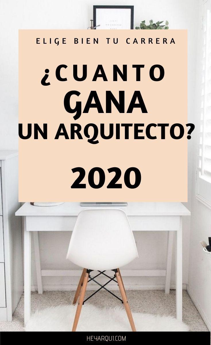 Cuanto Gana Un Arquitecto 2020 Y Hasta Cuanto Puede Ganar Temas De Arquitectura Trabajo De Arquitecto Arquitectos