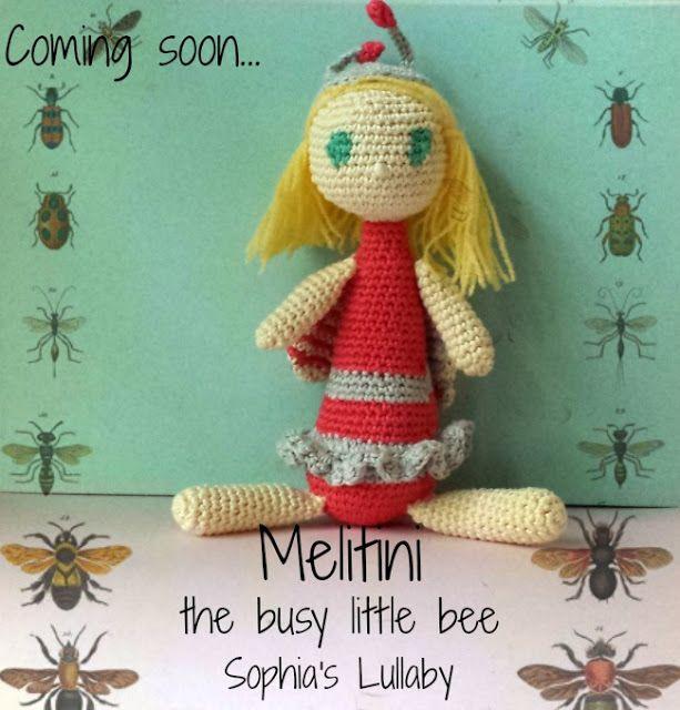 Melitini the busy little bee crochet pattern: Sophia's Lullaby