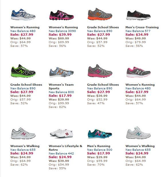 *HOT* New Balance Shoe SALE SAVE up to 75% OFF SHOES For The Whole Family!  http://www.frugallivingandhavingfun.com/2013/12/hot-new-balance-shoe-sale-save-up-to-75-off-shoes-for-the-whole-family/