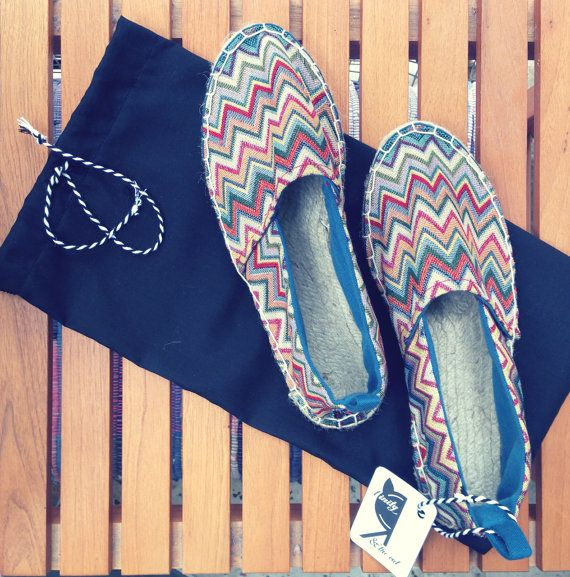 Espadrilles flat summer outfit women's shoes by TrinityAndTheCat