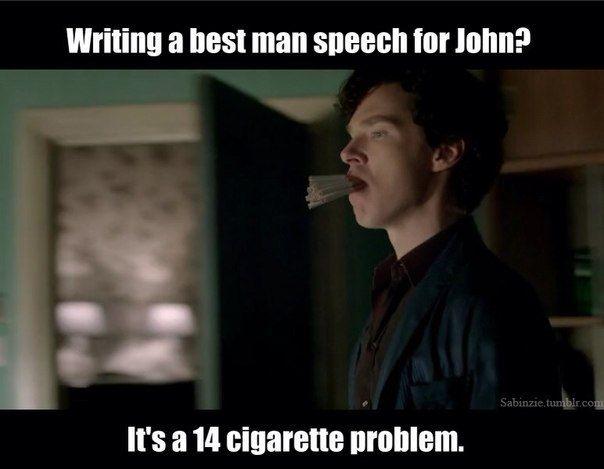 #SPOILERS #Sherlock #Series3 - The Sign of Three