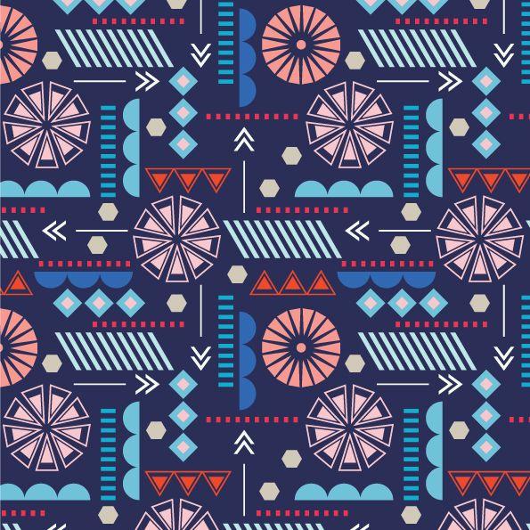 Geometric print design
