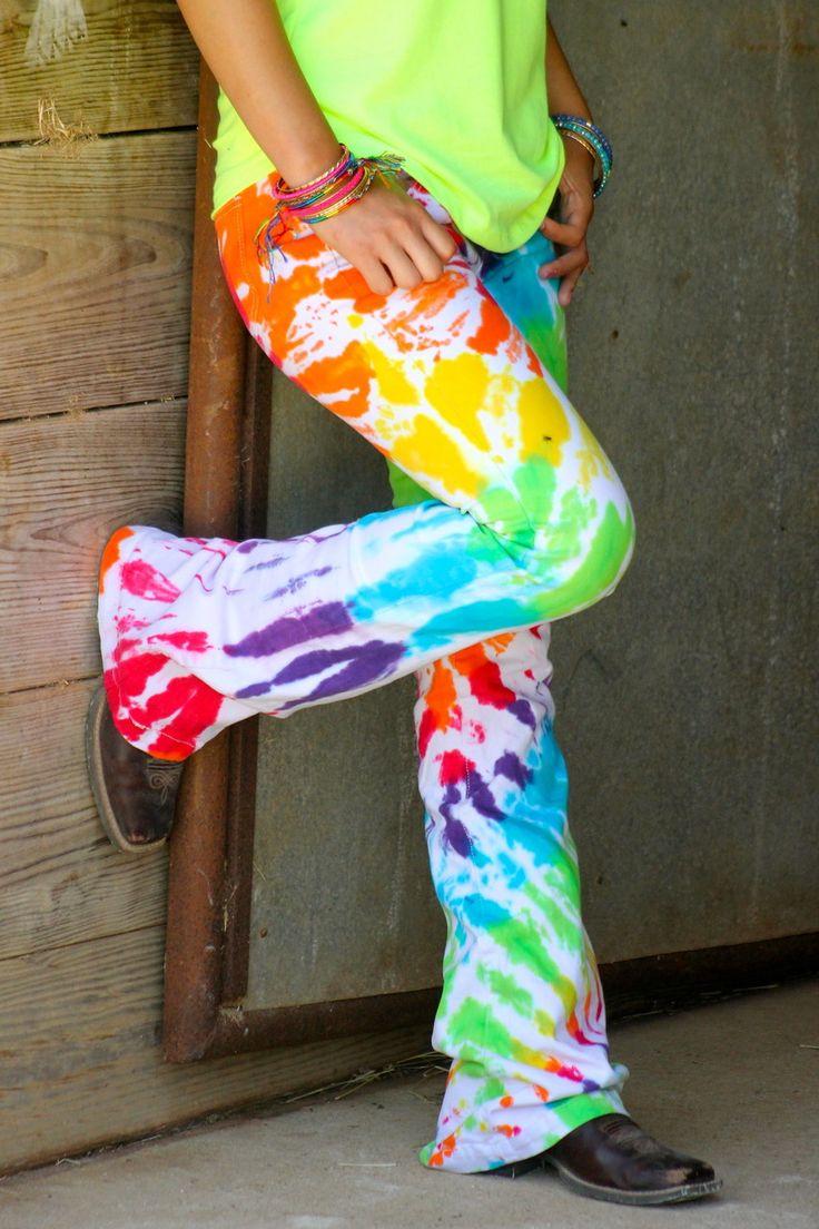 TIE DYE JEANS – Ranch Dress'n