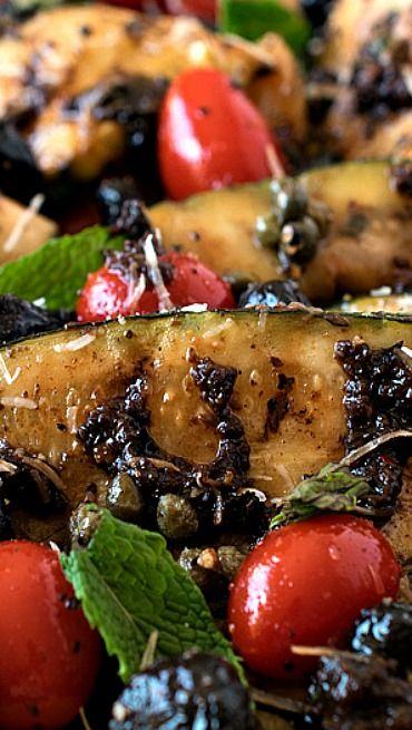 Grilled Zucchini Salad | Recipe