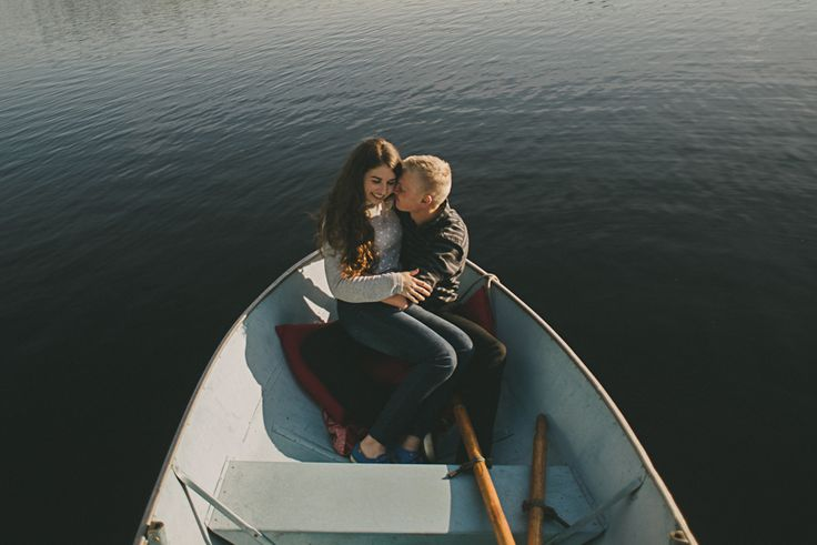 Sudbury Ontario Engagement Photos, Couples and Canoes. See more Wedding Photos at www.rebeccabose.com