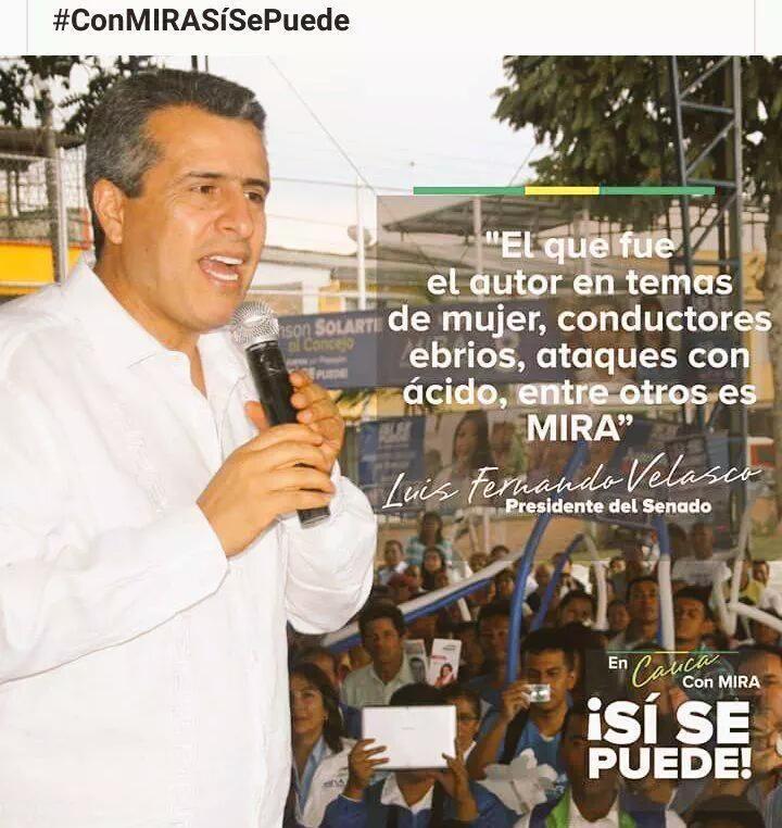 Colombiano, abra los ojos, el Movimiento MIRA sí trabaja y por eso lo atacan #ConMIRASíSePuede