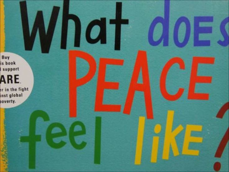Video - What Does Peace Feel Like? by Vladimir Radunsky