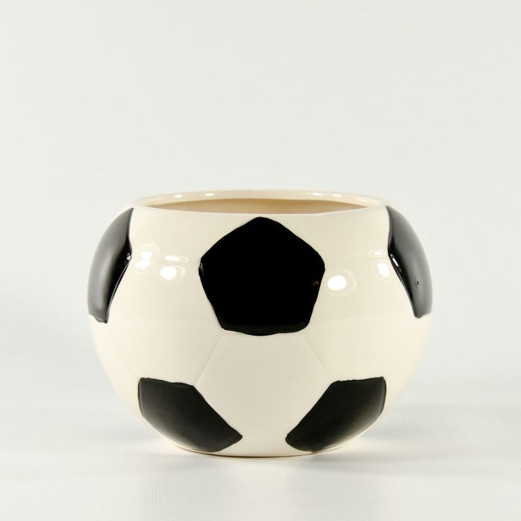 Ceramic Soccer Vase - Wholesale Flowers and Supplies