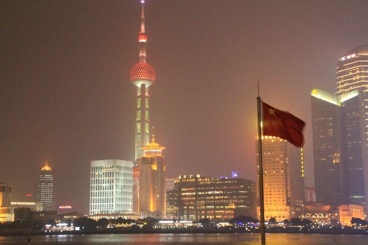 Shanghai skyline #shanghai #bund