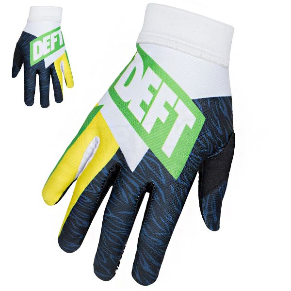 Deft Family Artisan 3 Evident Gloves - Green Yellow
