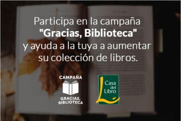"""Por primera vez, este año, la Biblioteca de la Universidad de Valladolid, se ha sumado a la campaña promovida por Cupones Mágicos y Casa del Libro, """"Gracias, Biblioteca"""". Este año  bajo el lema:""""Qué he aprendido gracias a mi biblioteca"""". Todos los participantes que completen el cuestionario recibirán un cupón del 5% de descuento para comprar libros en Casa del  Libro. Participa hacinedo click en el siguiente enlace: https://cupon.es/descuentos/gracias-biblioteca"""