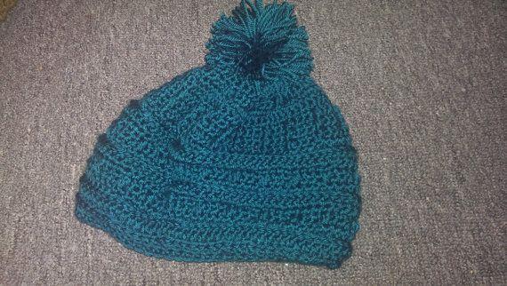 Puffs & Stripes hat~*~ originally pinned by https://www.facebook.com/HookedOnEwe