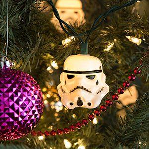 Star Wars Stormtrooper String Lights · LichterkettenWeihnachtslichterUrlaub  DekorierenFeierlichkeitenWeihnachtliches