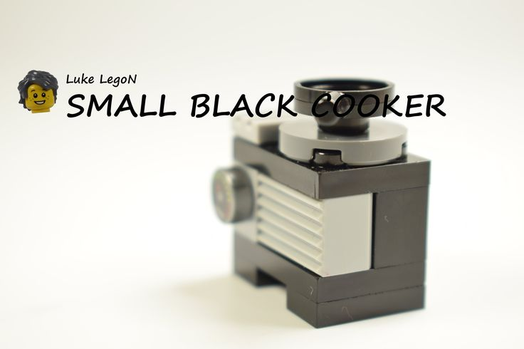 LEGO Black small cooker