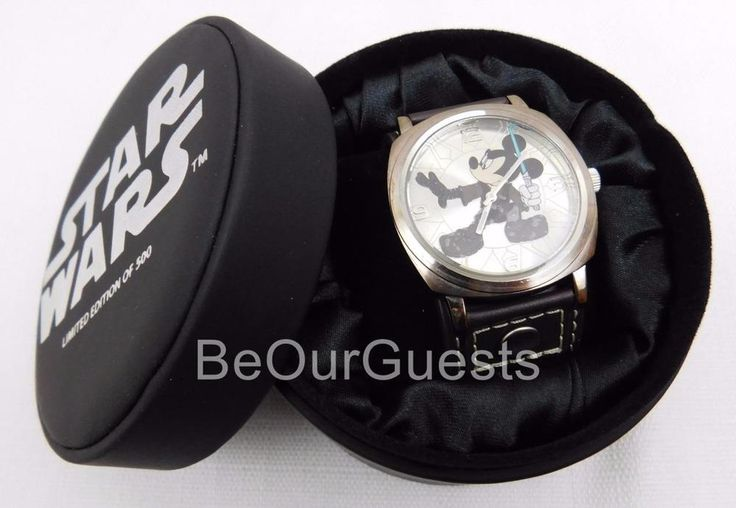 New Disney Star Wars Weekends 2008 Jedi Mickey Mouse Watch Limited Edition 500