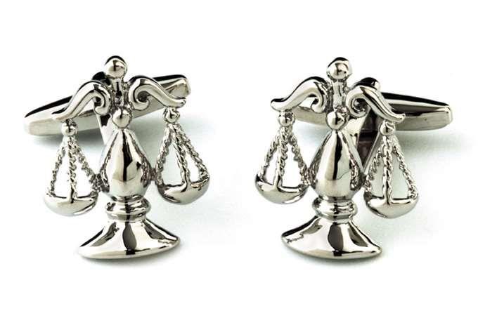 GEMELOS BALANZA LIBRA - Tienda de gemelos en rodio y plata para hombre. Gemelos divertidos y originales, clasicos y elegantes.