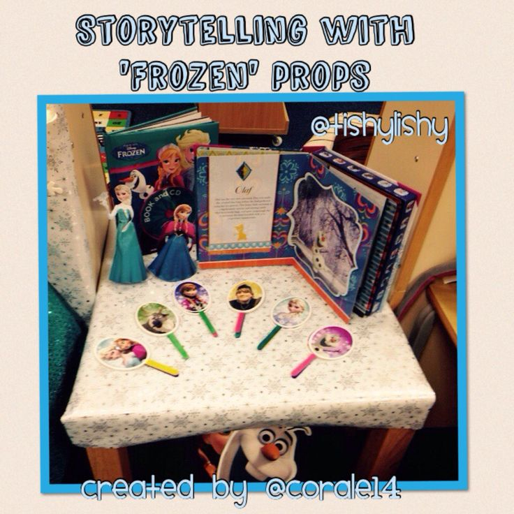Created by my student. Story telling with bought props.