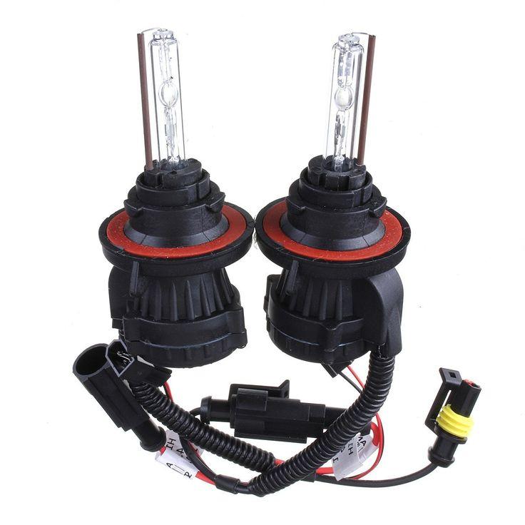 55W 9004 Dual Beam High Low HID Bi-xenon Bulbs DC12V Car Headlight Kit. Features:    high Quality Quartz Glass Bulbs, Easy Installation  40% Less Power Consumption Than Halogen Light Bulbs  4 Times Light Intensity Than Halogen Light Bulbs  life-expectancy: 10000-15000 Hours. 5 Times Life Span Than Halogen Light Bulbs  wattage: 55w  bulb Sizes Available: 9004   color Temperatures Available: 3000k,4300k,5000k,6000k,8000k,10000k,12000k,15000k    package Includes:    2 X Hid Bi-xenon Hi/lo Dual…