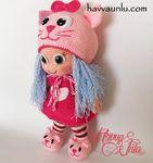 Мобильный LiveInternet Кукла в шапке кошки | Асиат - Дневник Асиат |