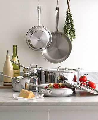 All clad stainless steel cookware collection cookware for Perfect kitchen cookware